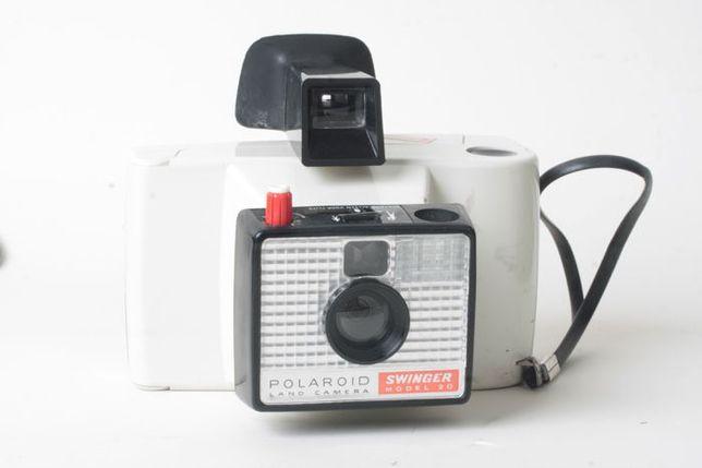 Polaroid swinger modelo 20 - Land Camera - objeto de coleção