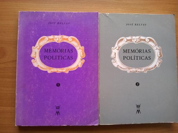Memórias Políticas (2 vols.) - José Relvas