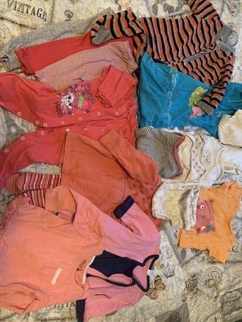 Ubranka 6-9 mies dla dziewczynki