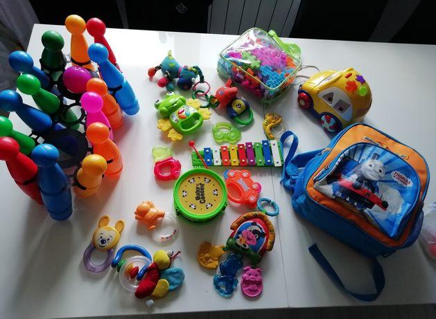 Zabawki+ plecaczek stan idealny