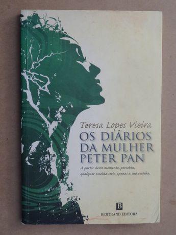 Os Diários da Mulher Peter Pan de Teresa Lopes Vieira