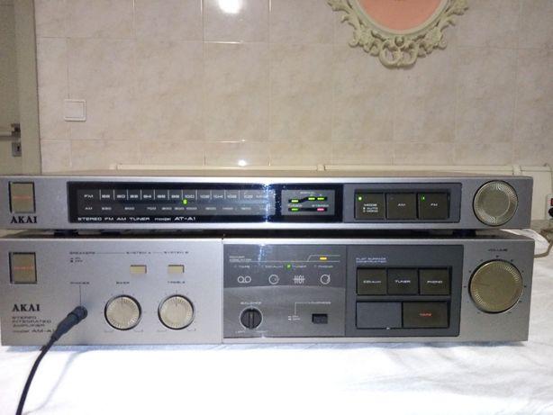 AKAI AM-A1 Amplificador Impecável + Tuner