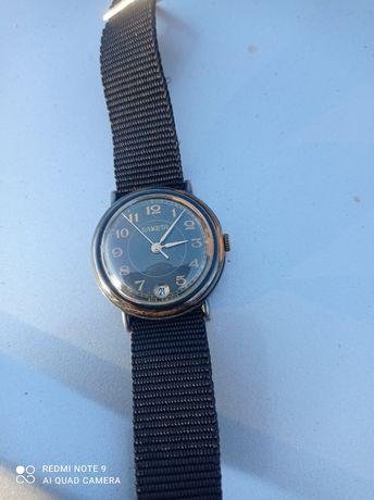 Zegarek Rakieta czarna oksydowana