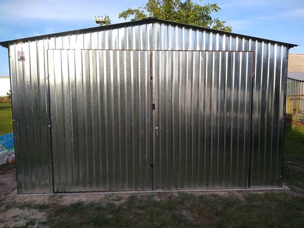 Garaż 4x5 DWUSPAD Ocynkowany