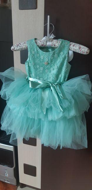 Нарядное платье Zironka голубое