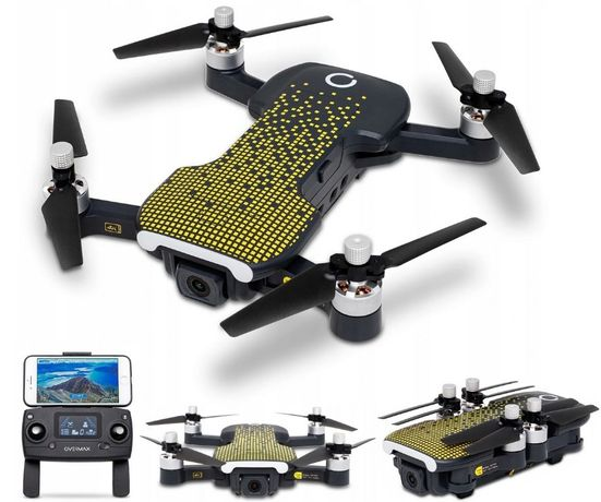 Dron OVERMAX X Bee Drone FOLD ONE GPS WiFi Kamera 4K FPV Quadrocopter