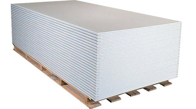 Płyta Karton-Gips, BIAŁA | 1.2 x 2.60m | Transport