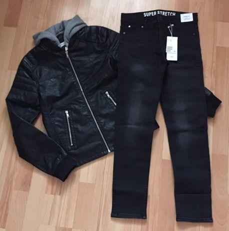 Косуха і джинси H&M