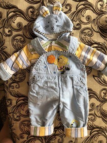 Тёплый интересный комбинезон костюм для вашего ребёнка