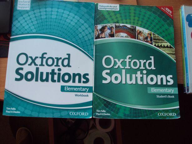 Oxford Solutions , podręcznik i ćwiczenie