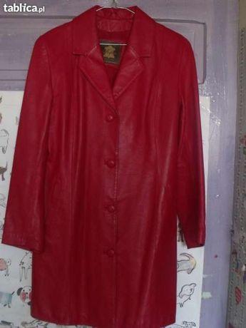 płaszcz skórzany (kurtka) damski