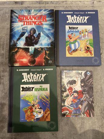 Varios comics Nacionais e internacionais