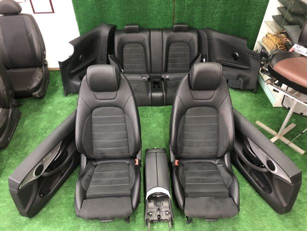 Салон / сиденья Mercedes w205 Coupe