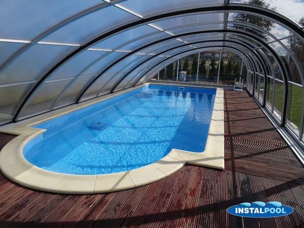 BASEN OGRODOWY 8,2 x 3,1 x 1,5 instal-pool