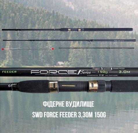 Продам Фидерное Удилище Siweida Force Feeder 3,30м 150г