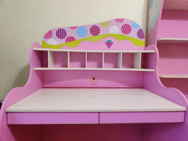 Детская мебель Cilek Чилек Sweet для девочки стол кровать шкаф стелла