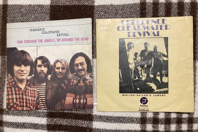 Singles Creedence Clearwater Revival