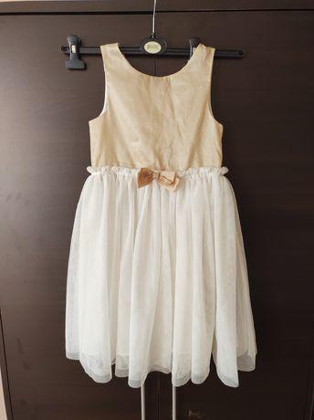 Sprzedam śliczną świąteczna mieniąca się sukienkę