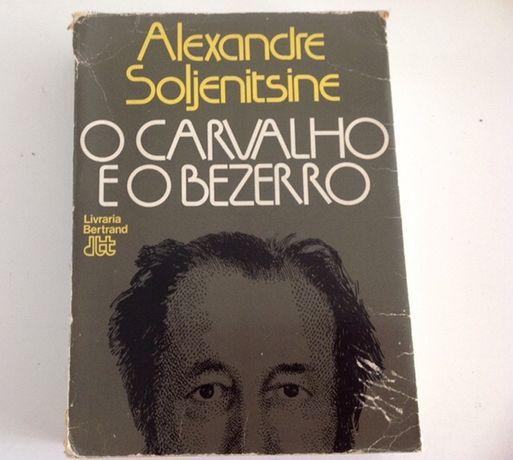 """Livro """"O Carvalho eo Bezerro"""