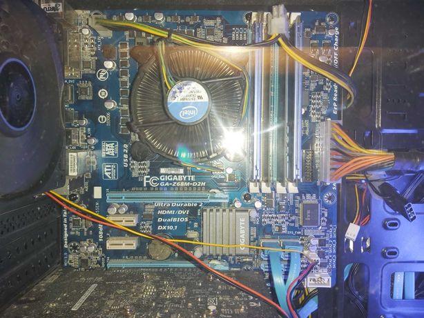 материнская плат+процессор с кулером, и 8 Гб оперативной память