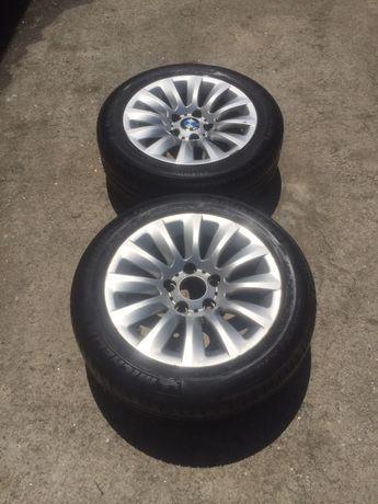 2 Jantes BMW 16 liga leve, com pneu michelin meio trilho 205/55