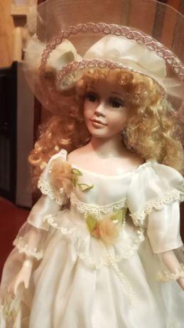Кукла фарфор, 50 см. Пересылаю