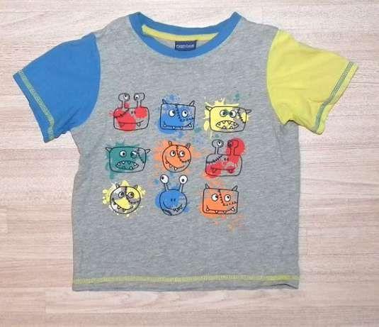 R. 104 T-shirt z potworkami