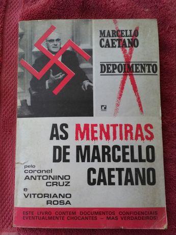 Livro antigo sobre Marcello Caetano