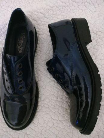 Туфли лаковые женские  mat:20
