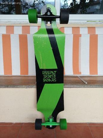 Skate longboard deeply