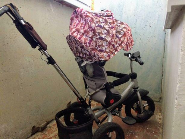 Велосипед коляска turbo trike велоколяска 3-колесный