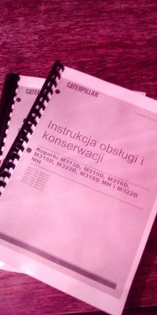 DTR instrukcja obsługi cat m313d m315d m316d m318d volvo