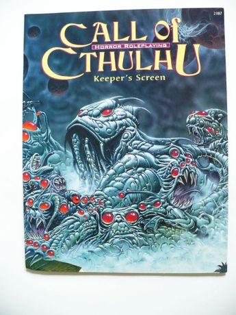 Call of Cthulhu Keeper's Screen 2000 Chaosium idealny