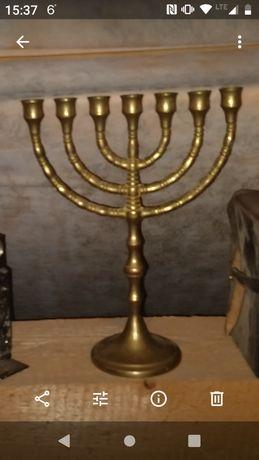 Menora świecznik żydowski