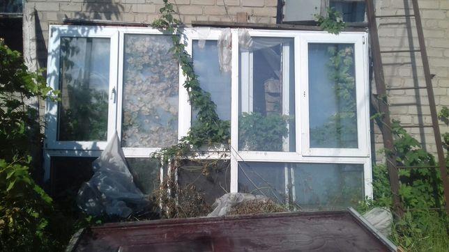 Окна пластиковые готовая веранда