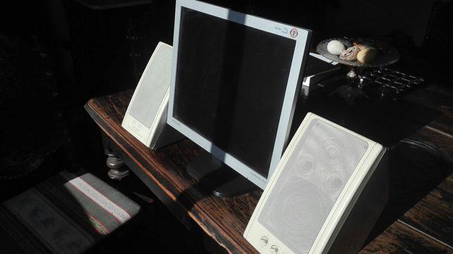 Monitor e colunas