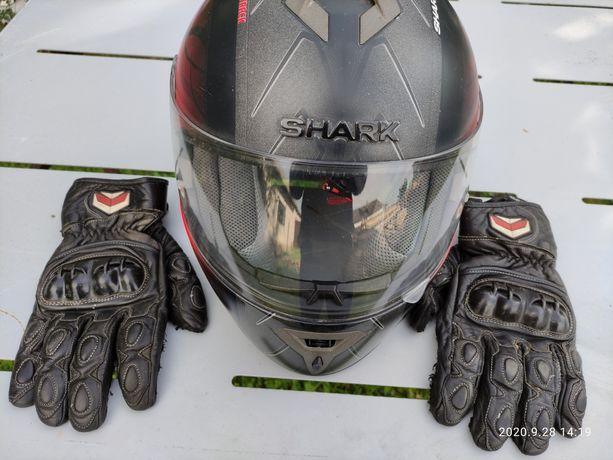 kask shark s600 track rozmiar s+ rekawice shima gratis!