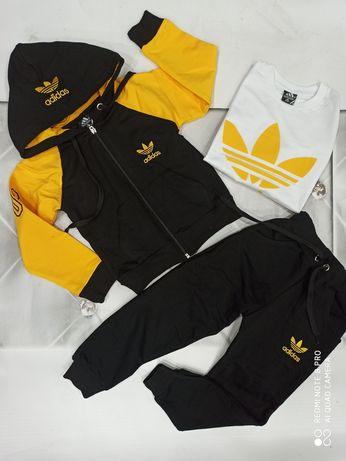 Dres logo Adidas 4 kolory 98-146