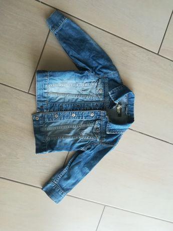 Katana jeansowa rozmiar 98