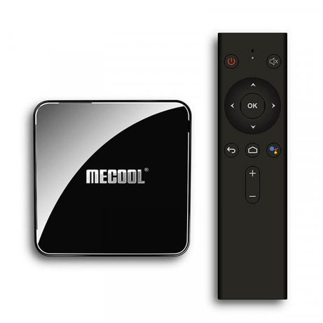 MECOOL KM3 Voice 4GB/64GB DDR4(S905X2)Android TV 9.0 Голос.управ