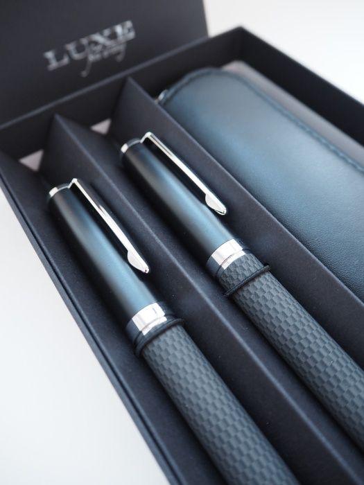 Подарочный набор ручек Luxe Carbon Смела - изображение 1