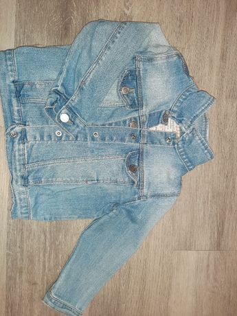 Kurteczke jeansowa zara, katanka 92