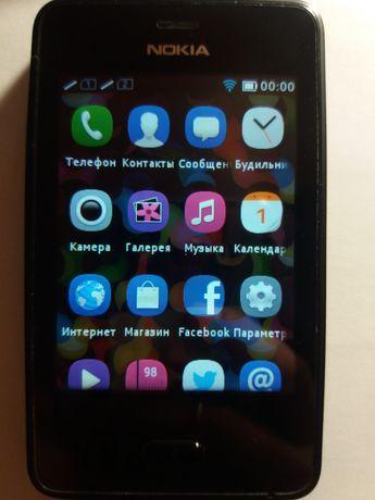 Телефон мобильный Nokia Asha 501 на 2 симки сенсорный нокиа аша нокіа