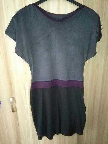 Sukienka damska r. S z krótkim rękawem + T-shirt