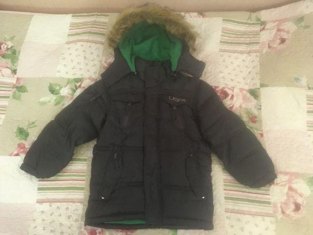 Продам зимнюю куртку U.S.POLO на 5 - 6 лет.