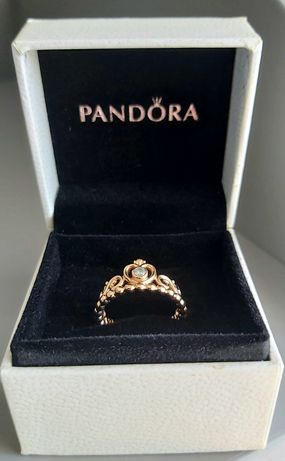 Anel Pandora Coroa Tiara Princesa