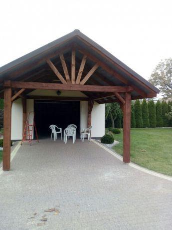 Wiata ogrodowa drewniana 4,60/3,60m