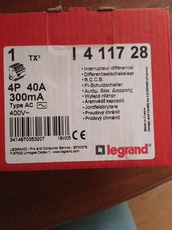 Дифавтомат legrand 4p 40A 300ma  400v