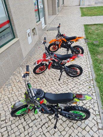 Mini motocross de cilindrada 49 novo vários cores disponíveis