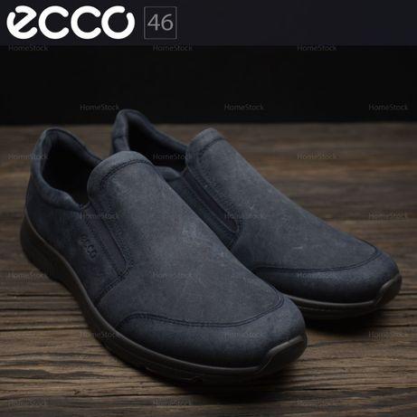 Акция! Слипоны туфли мокасины мужские ECCO 511684 Оригинал р-46